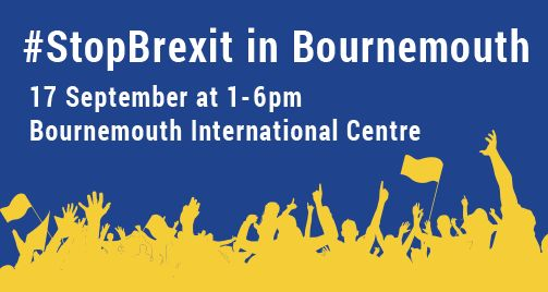 Stop Brexit in Bournemouth – Sept 17th