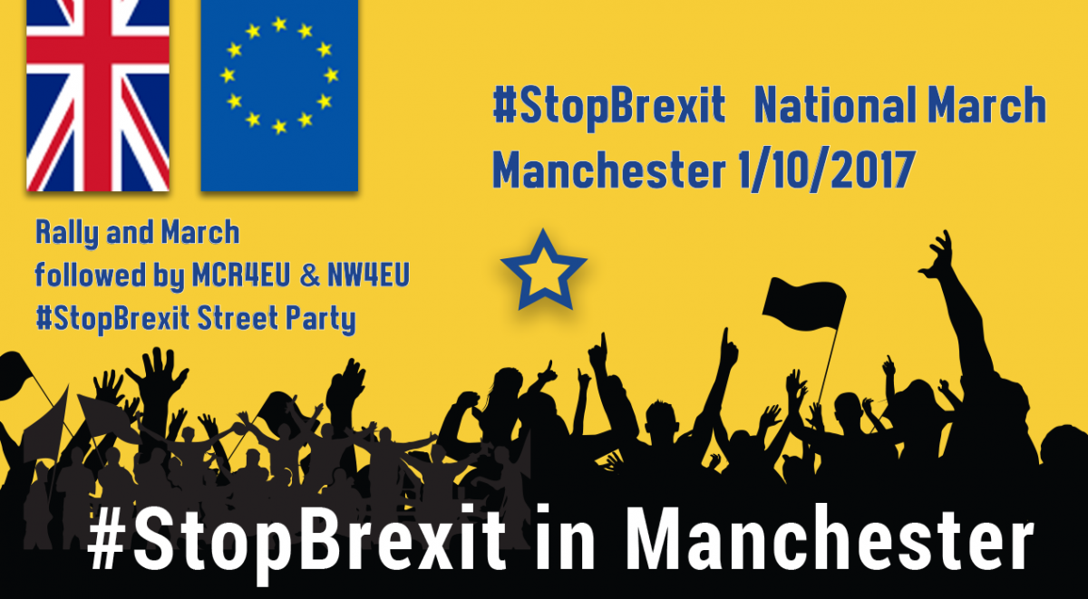 Stop Brexit in Manchester – Oct 1st
