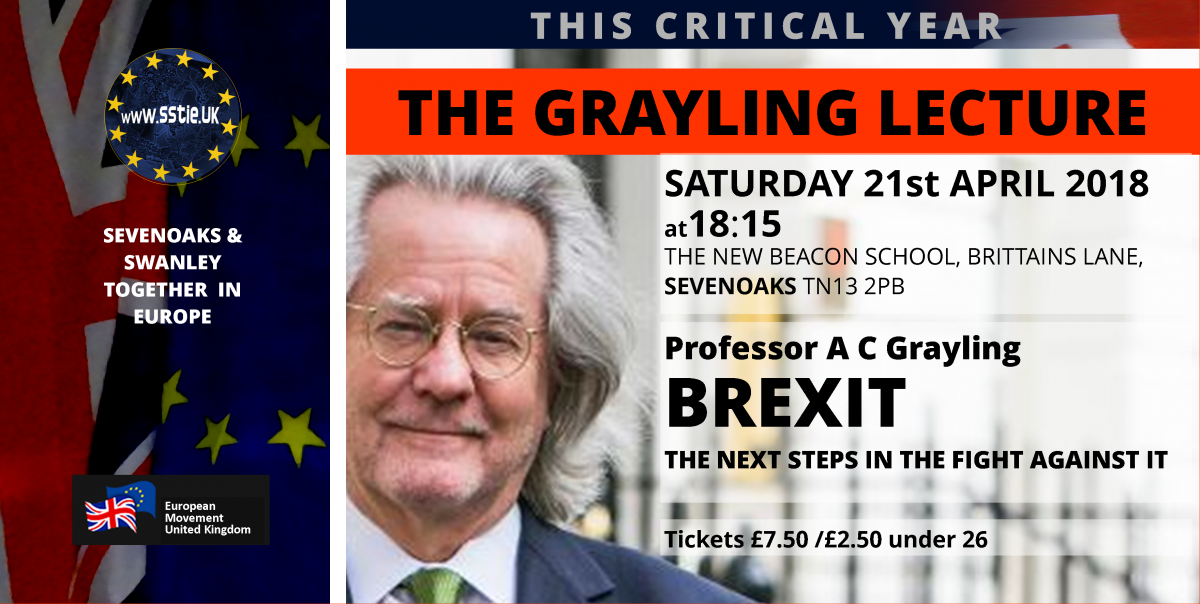 The Grayling Lecture – Brexit: The Next Steps in the Fight Against it