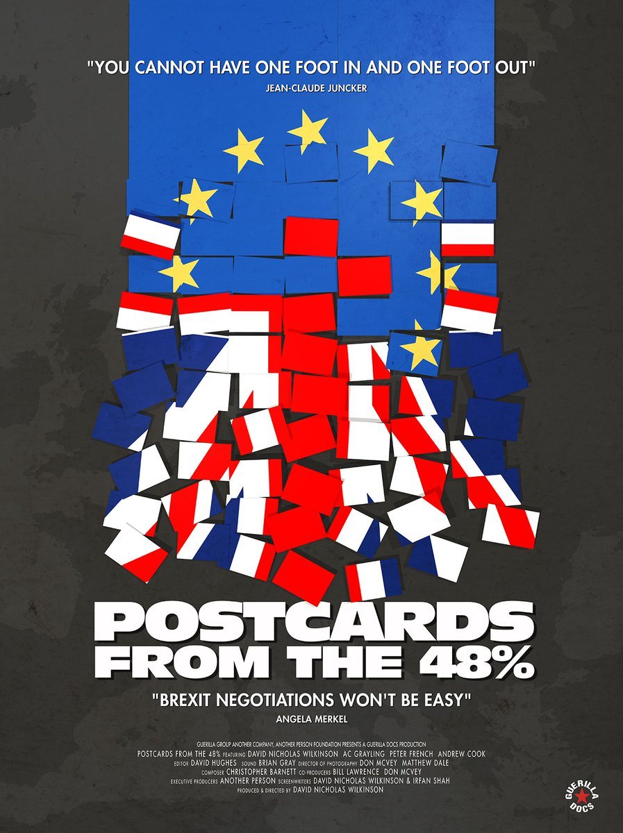 Film Night in Tunbridge Wells – Q & A session with Postcards from the 48% Director