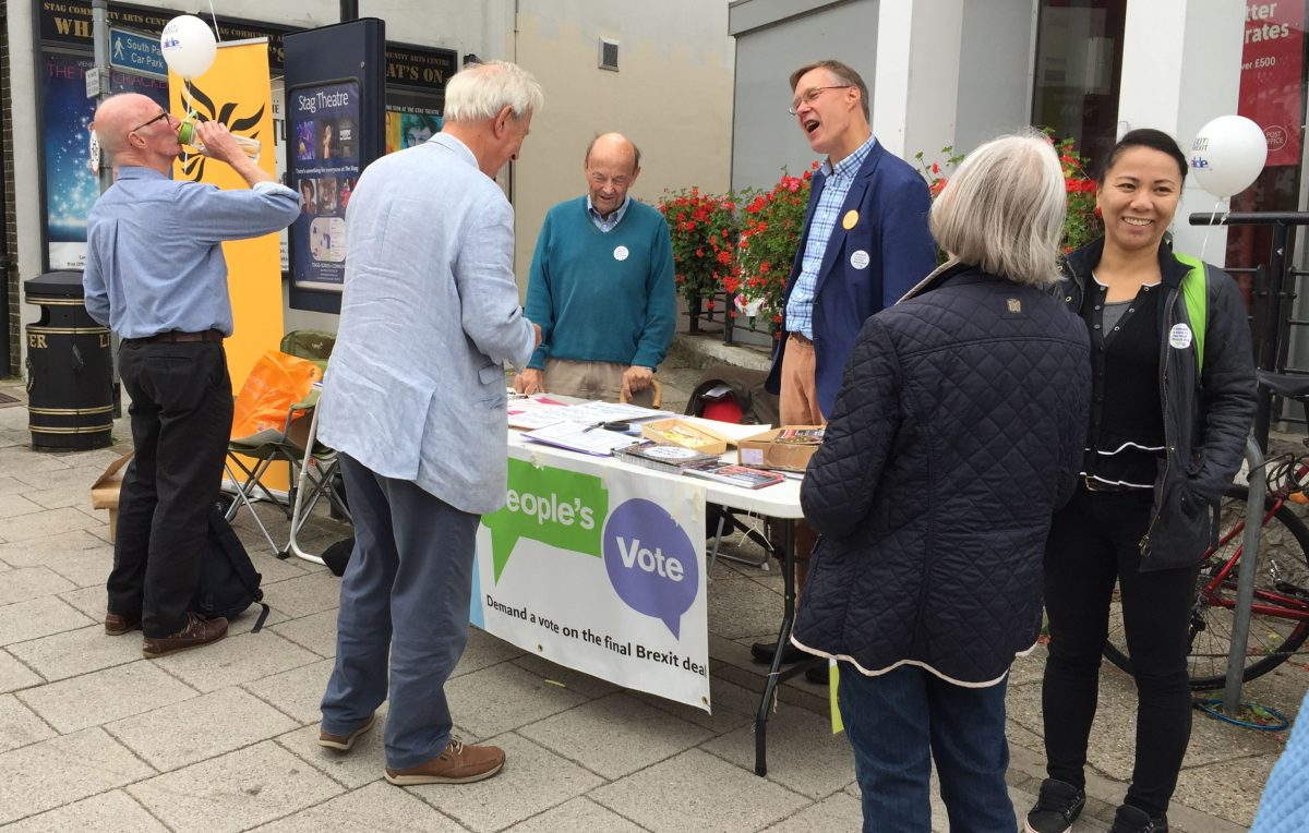 Growing momentum for a People's Vote in Sevenoaks