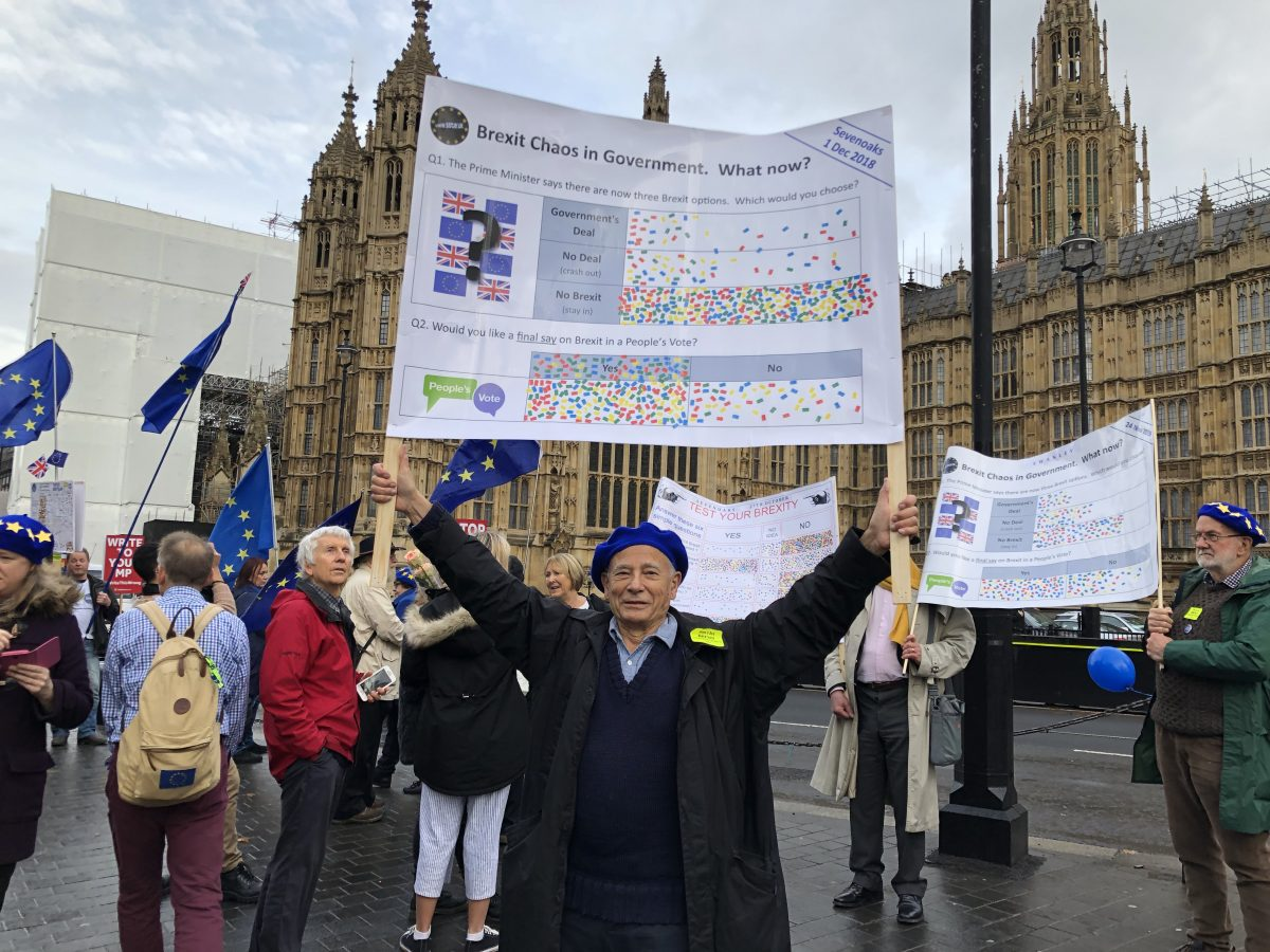 SSTIE join the Brexitometer action day in Westminster