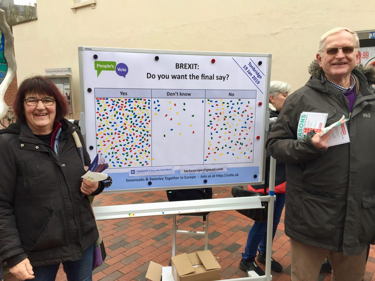 70% of Tonbridge shoppers want a Final Say
