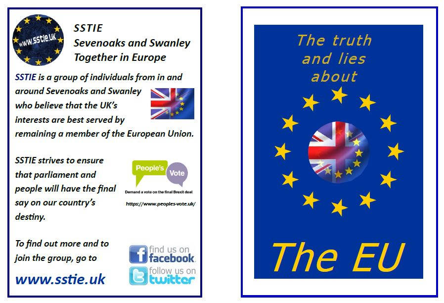 Updated Brexit-leaflets