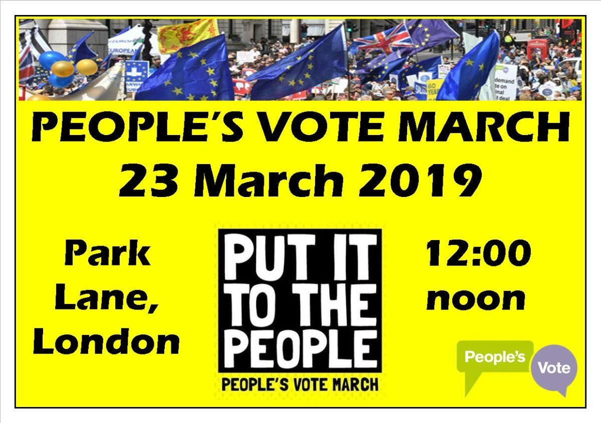 People's Vote March 23/3/19